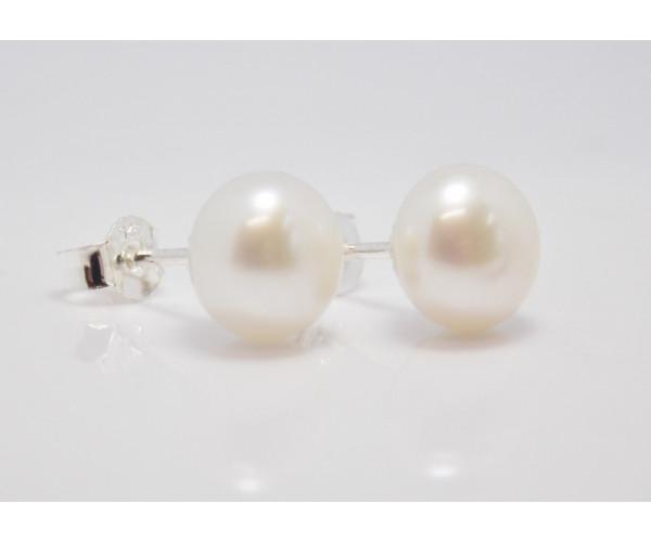 Dámske náušnice Perly sladkovodné 8-9 mm