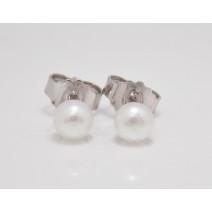 Dámske náušnice Perly sladkovodné 5 mm
