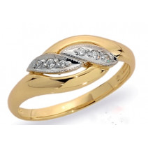 Dámsky prsteň žlté zlato Lydia JM32
