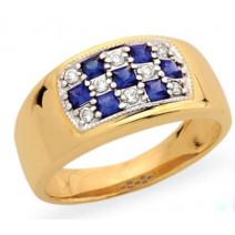 Dámsky prsteň žlté zlato Harmonia JM104