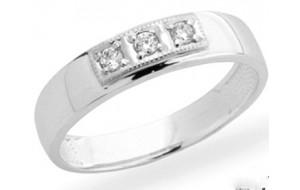 Dámsky prsteň biele zlato  Kasandra JM154