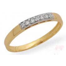 Dámsky prsteň žlté zlato Pantea JM153