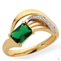 Dámsky prsteň žlté zlato Elen JM346