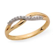 Dámsky prsteň žlté zlato Julia JM378