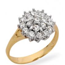 Dámsky prsteň žlté zlato DitaJM84