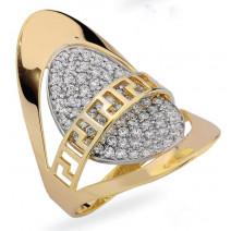 Dámsky prsteň žlté zlato Dakota JM201