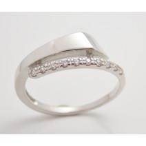 Dámsky prsteň biele zlato Belinda DF2048