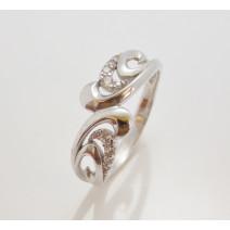 Dámsky prsteň biele zlato Bridget  DF2144