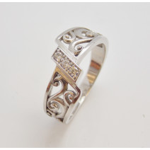 Dámsky prsteň biele zlato Afrodite DF2374