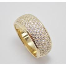 Dámsky prsteň žlté zlato Alma JM1528