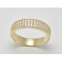 Dámsky prsteň žlté zlato Elissa JM1526