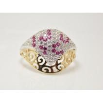 Dámsky prsteň žlté zlato Cher JM186 - W+P