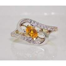 Dámsky prsteň žlté zlato Summer Breeze JM237