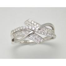 Dámsky prsteň biele zlato Michelle JM354