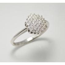 Dámsky prsteň biele zlato Debora JM323