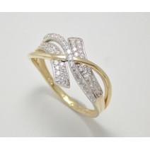 Dámsky prsteň žlté zlato Michelle JM354