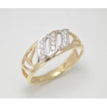 Dámsky prsteň žlté zlato Ebony JM162