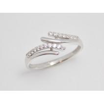 Dámsky prsteň biele zlato Mandy JM379