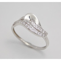 Dámsky prsteň biele zlato Sonia JM1810