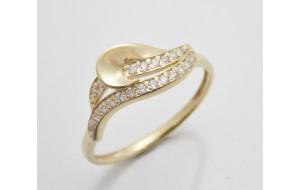 Dámsky prsteň žlté zlato Sonia JM1810