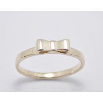 Dámsky prsteň žlté zlato Arco