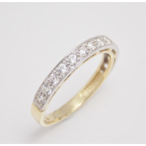 Dámsky prsteň žlté zlato  Shine Line JM363