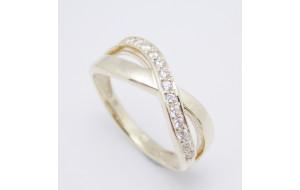 Dámsky prsteň žlté zlato Nike JM206