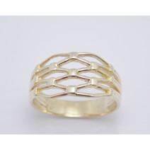Dámsky prsteň žlté zlato Lana
