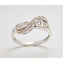 Dámsky prsteň biele zlato Olympia JM287