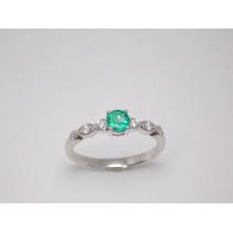 Dámsky prsteň so smaragdom Afrodita