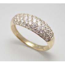 Dámsky prsteň žlté zlato Colette JM233