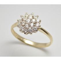 Dámsky prsteň žlté zlato Dalila JM86