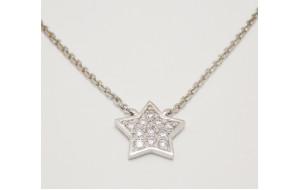 Retiazka s príveskom s diamantmi Diamond Star