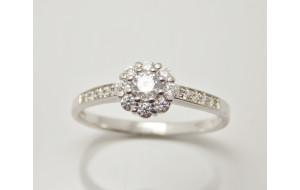 Prsteň s diamantami Tender