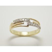 Dámsky prsteň žlté zlato Cannes JM281