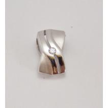 Prívesok biele zlato Ema DF1751