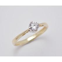 Zásnubný prsteň žlté zlato Venezia